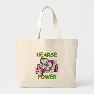 Hearse Power Tote Bags