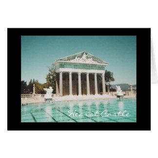 Hearst Castle outdoor pool Card