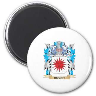 Hearst Coat of Arms - Family Crest Refrigerator Magnet