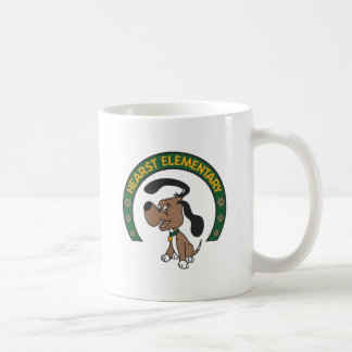 Hearst Elementary Classic Hound Logo Coffee Mug