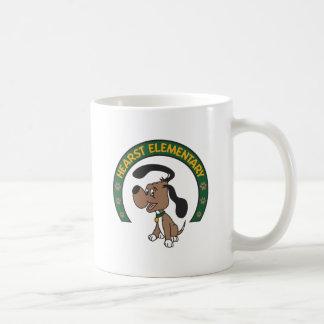 Hearst Elementary Classic Hound Logo Mugs