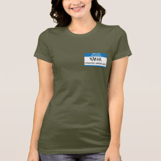 Hearst Paramilitary Chic - 2x-Sided T-Shirt
