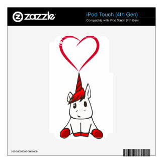 heart18 iPod touch 4G decal
