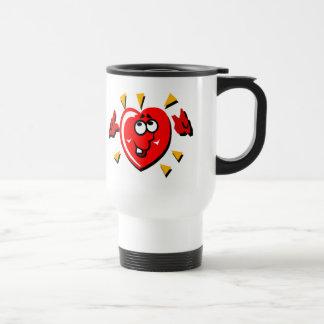 Heart1 15 Oz Stainless Steel Travel Mug