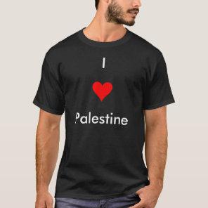 HEART1, I , Palestine T-Shirt