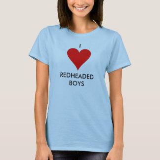 HEART1, I, REDHEADED BOYS T-Shirt