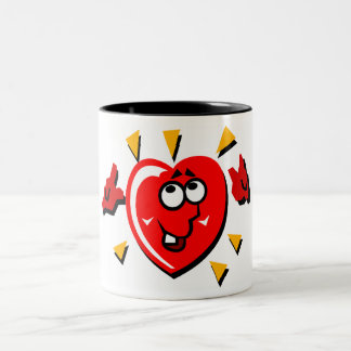 Heart1 Two-Tone Coffee Mug