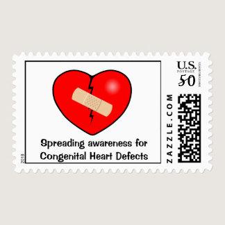 Heart2, Spreading awareness for Congenital Hear... Postage