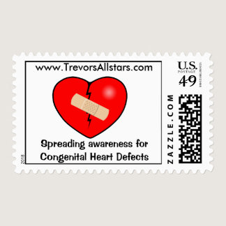 Heart2, Spreading awareness for Congenital Hear... Postage