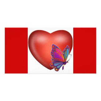 heart3 photo card
