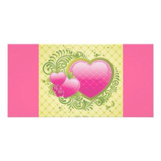 Heart-123 ai photo greeting card