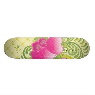 Heart-123.ai Skateboard Deck