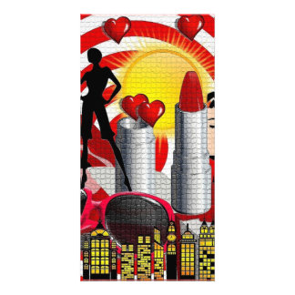 heart-163444 heart love mouth lips red white yello card