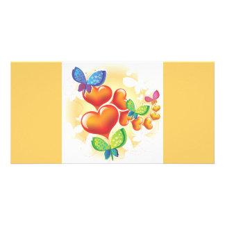 Heart-190.ai Photo Card