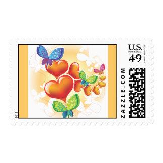 Heart-190.ai Timbre Postal