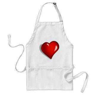 HEART 1 ADULT APRON