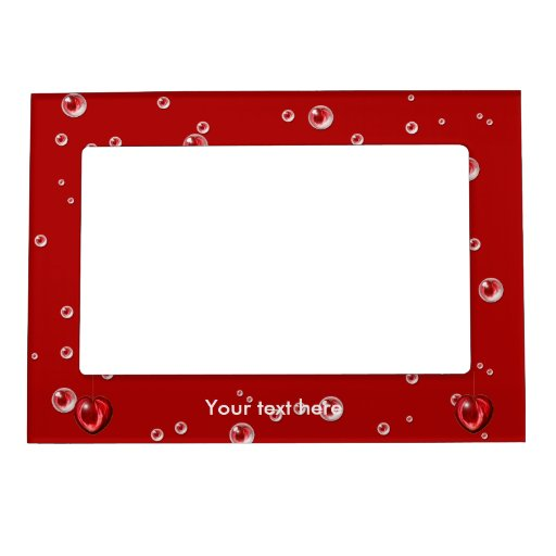 Heart #1 magnetic photo frame