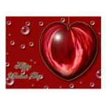 Heart #1 post card