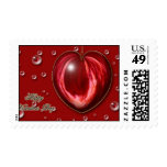 Heart #1 postage stamps