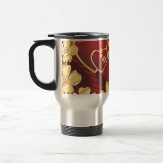Heart-215.ai 15 Oz Stainless Steel Travel Mug