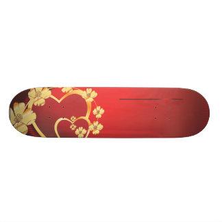 Heart-215.ai Skateboard Deck