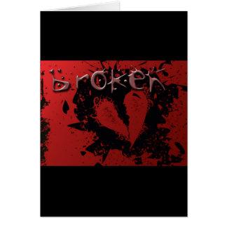 heart-239667  heart broken love misfortune abstrac greeting card