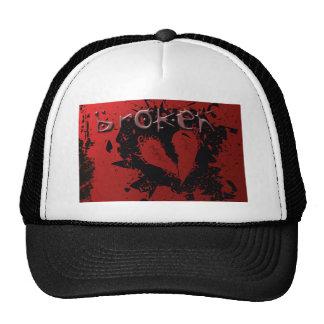 heart-239667  heart broken love misfortune abstrac trucker hat