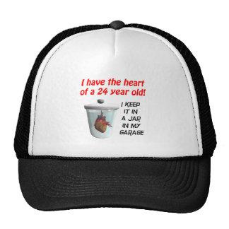 Heart 24 trucker hat