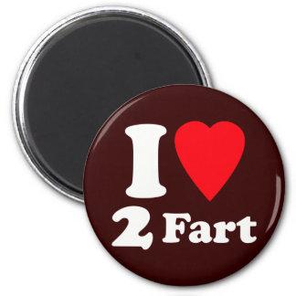 Heart 2 Fart Pass the Gas Silent Deadly Love Fridge Magnet