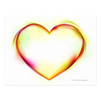 Heart 2 postcard