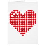 Heart 3 card