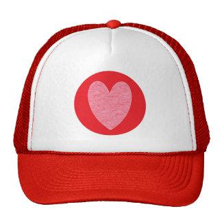 Heart 3 trucker hat