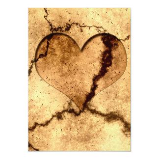 heart-401499 heart dirty dirt structure ground ear card