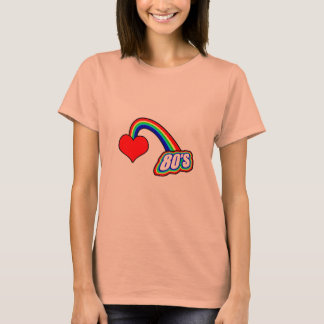 Heart 80's T-Shirt