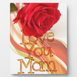 heart-84153  heart red rose flower mother's day lo plaque