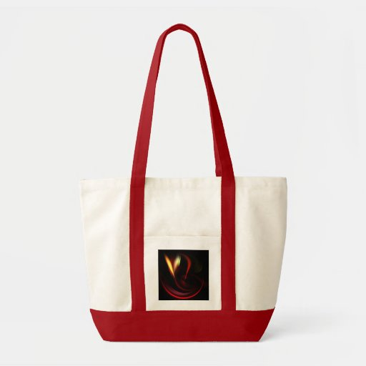 HEART AFLAME TOTE BAG