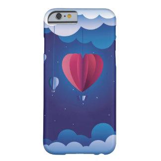 Heart air balloon barely there iPhone 6 case
