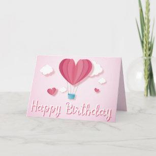 Romantic Balloons Cards | Zazzle