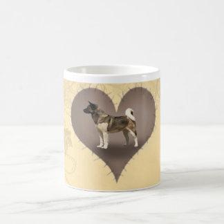 Heart Akita Coffee Mug
