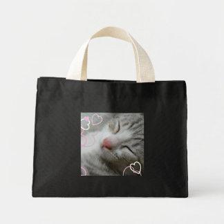 Heart Alfie kitten Bags