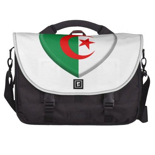 Heart Algérie flag coils Laptop Computer Bag