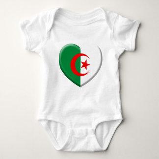 Heart Algérie flag coils T Shirt