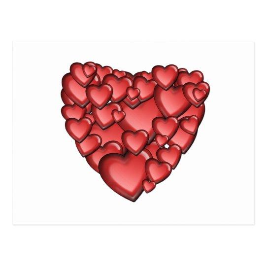 Heart Alot Postcard