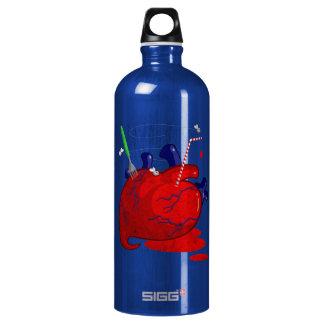 Heart Aluminum Water Bottle