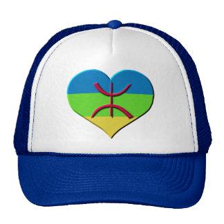 Heart amazigh, kabyle, berbere trucker hat