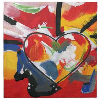 Heart American MoJo Napkin
