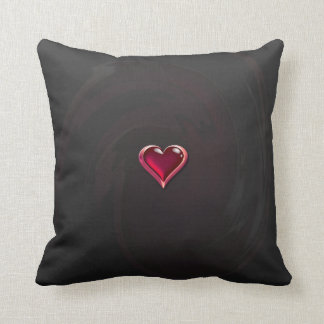 Heart American MoJo Pillow
