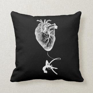 Heart Anatomy - Aerial Acrobat Throw Pillow