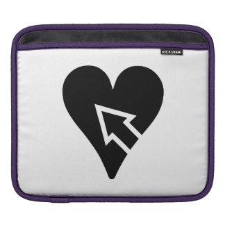 Heart and Arrow iPad Sleeve