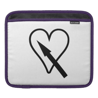 Heart and Arrow Sleeves For iPads